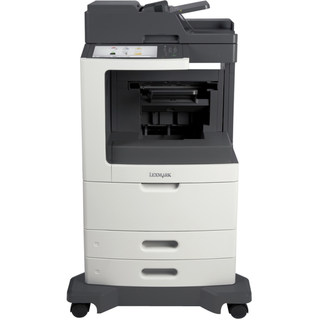 Lexmark Multifunction Laser Printer with Staple Finisher 24T7416 MX810DXFE