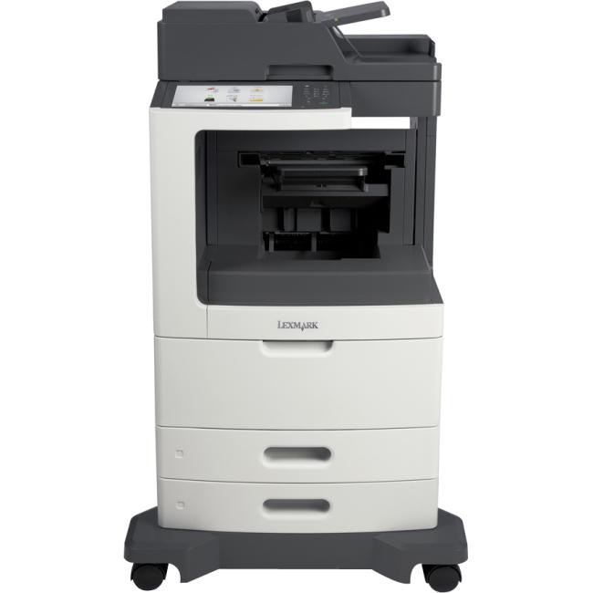 Lexmark Multifunction Laser Printer with Offset Stacker 24T7419 MX811DE