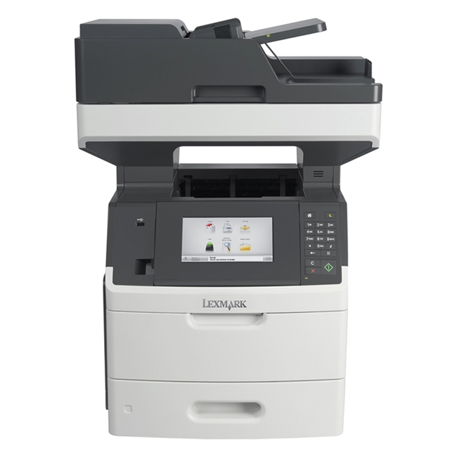 Lexmark Laser Multifunction Printer Government Compliant CAC Enabled 24TT345 MX710DHE