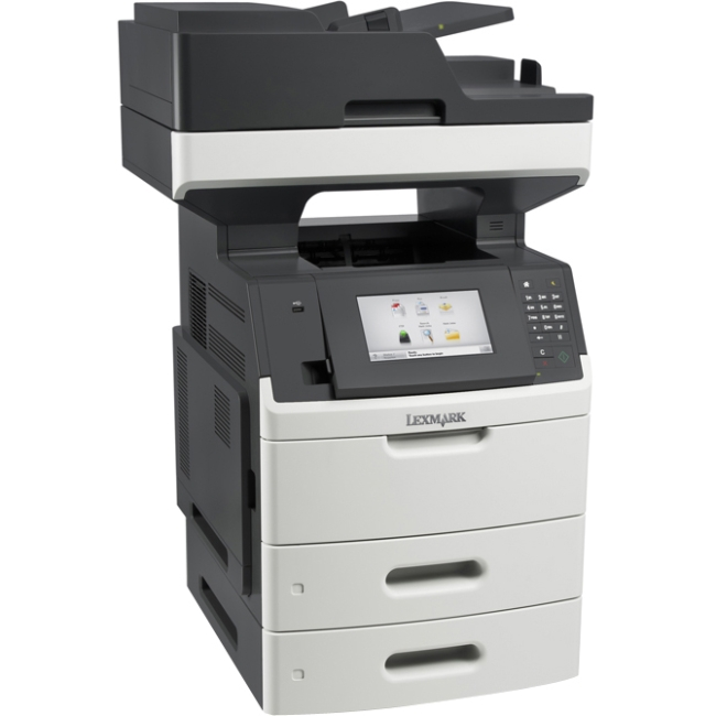 Lexmark Multifunction Printer Government Compliant CAC Enabled 24TT349 MX711DTHE