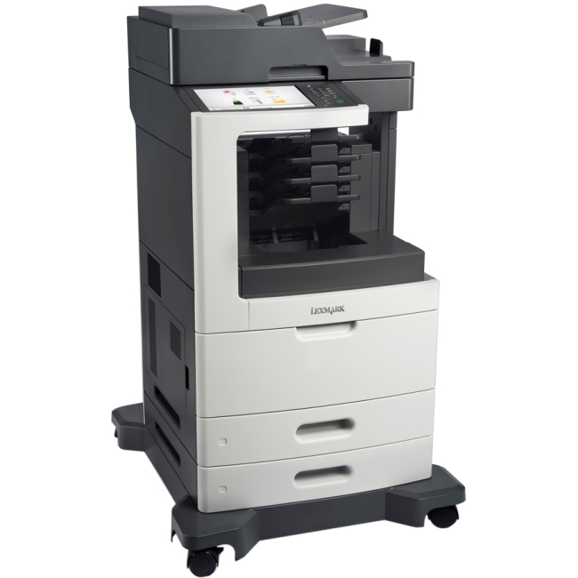 Lexmark Laser Multifunction Printer Government Compliant CAC Enabled 24TT377 MX812DME
