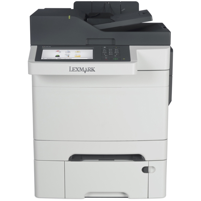 Lexmark Laser Multifunction Printer Governnment Compliant CAC Enabled 28E0649 CX510DTHE