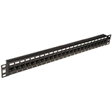 4XEM 24 Port CAT5E Rackmount Patch Panel 4XRMC5EPP24