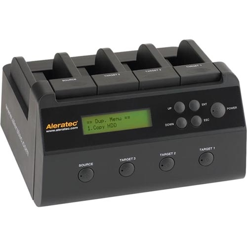 Aleratec Copy Dock 1:3 Hard Drive Duplicator 350117