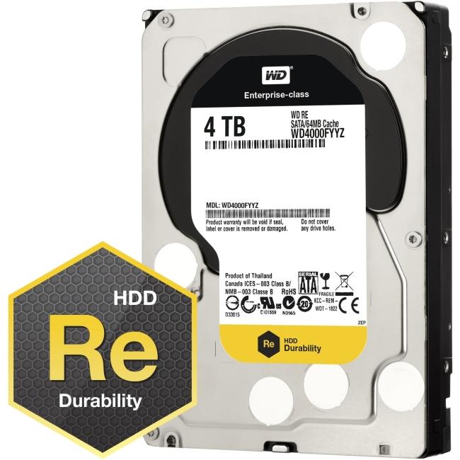Western Digital RE Hard Drive WD4000FYYZ