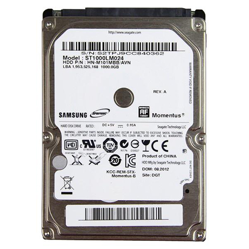 Seagate Momentus Hard Drive ST1000LM024
