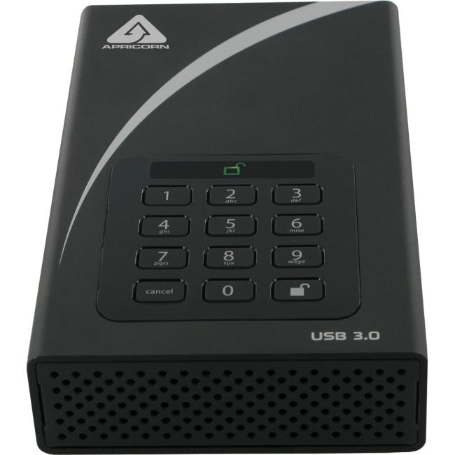 Apricorn Aegis Padlock DT - USB 3.0 Desktop Drive ADT-3PL256-4000