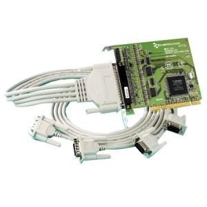 Brainboxes 4-port Multiport Serial Adapter UC-346