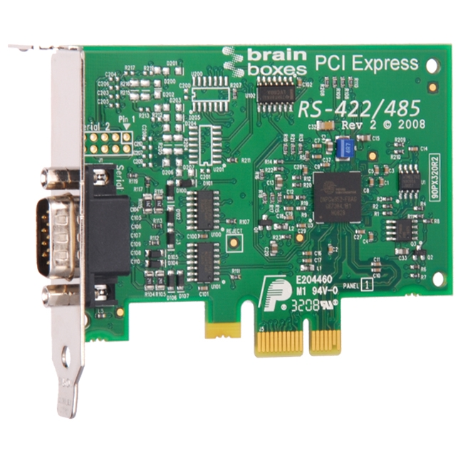 Brainboxes 1-port PCI Express Serial Adapter PX-320