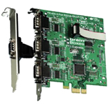 Brainboxes 4-port PCI Express Serial Adapter PX-420
