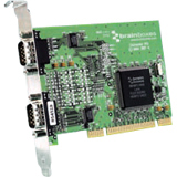 Brainboxes 2-port Universal PCI Serial Adapter UC-302