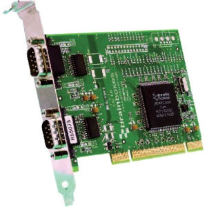 Brainboxes 2 Port RS232 PCI Serial Card with Max 230,400 Baud Rate UC-607