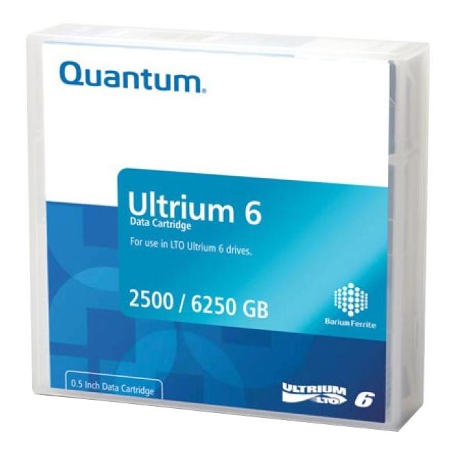 Quantum LTO Ultrium 6 Data Cartridge MR-L6WQN-BC