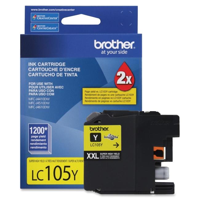 Brother Innobella Ink Cartridge LC105Y