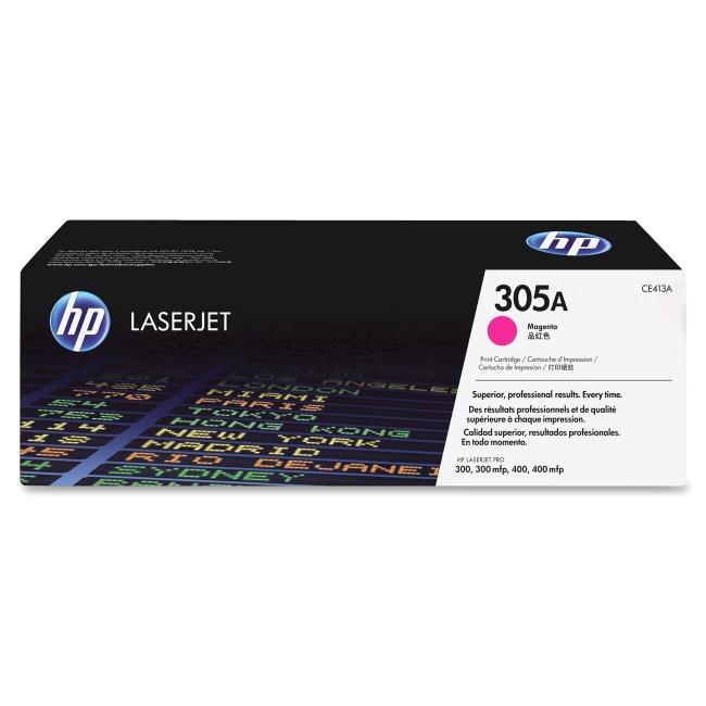 HP Magenta Original LaserJet Toner Cartridge CE413A 305A