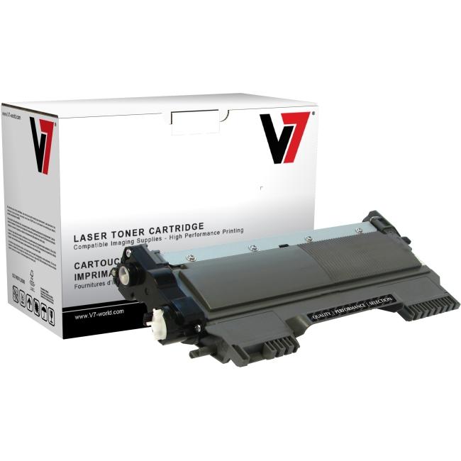 V7 Black Toner Cartridge (High Yield) For Brother DCP-7060D, DCP-7065DN; HL-2220 TBK2TN450H