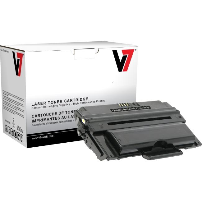 V7 Black Toner Cartridge (High Yield) For Samsung ML-2450, ML-2850, ML-2851ND TUK2ML2850H