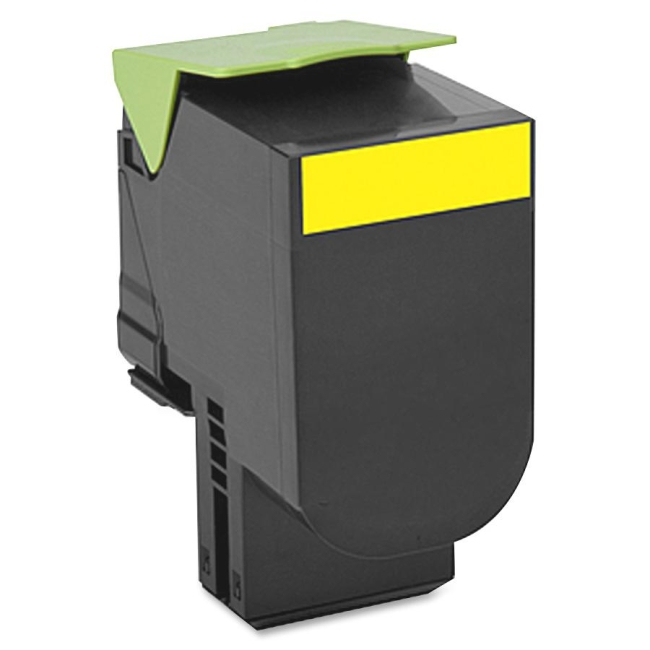 Lexmark Yellow High Yield Toner Cartridge 70C0H40 700H4