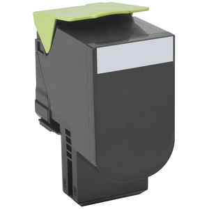 Lexmark Black High Yield Toner Cartridge 80C0H10 800H1