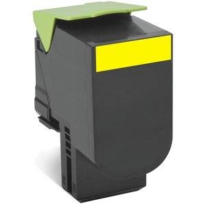 Lexmark Yellow Standard Yield Toner Cartridge 80C0S40 800S4