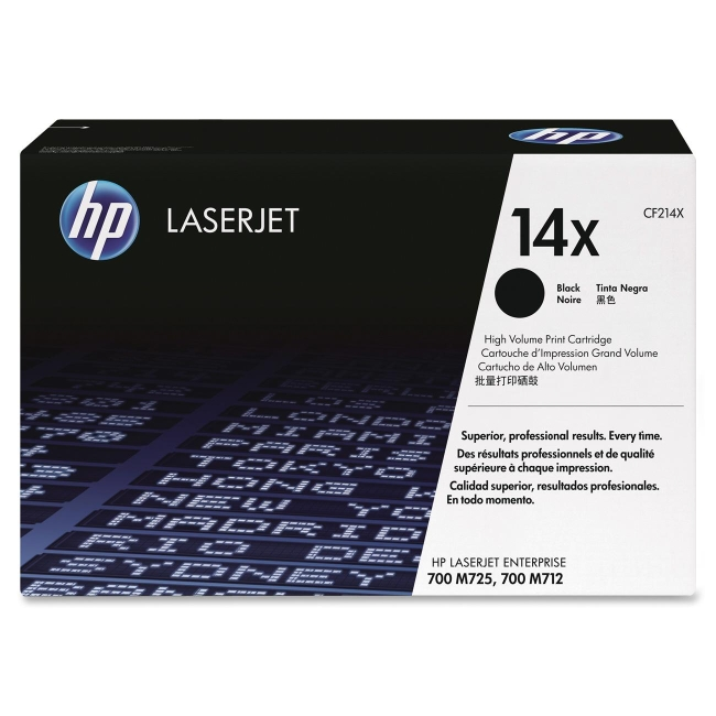 HP (CF2) High Yield Black Original LaserJet Toner Cartridge CF214X 14X