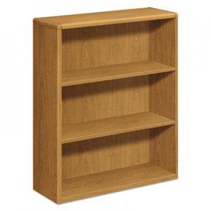 HON 10700 Series Wood Bookcase, Three Shelf, 36w x 13 1/8d x 43 3/8h, Harvest HON10753CC H10753.CC