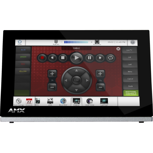 "AMX 7"" Modero S Series Tabletop Touch Panel FG2265-06 MST-701"