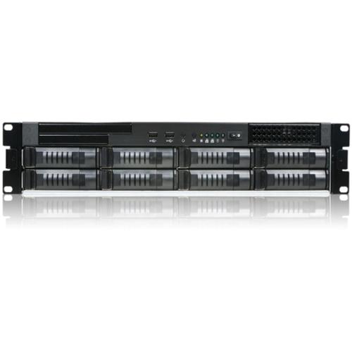 iStarUSA 2U -Bay Storage Server Rackmount Chassis E2M8-24R-40R2U 8