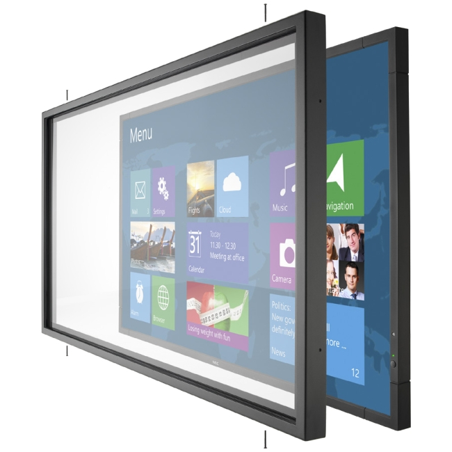 NEC Display Infrared Multi-Touch Overlay Accessory for the V801 Large-screen Display OL-V801