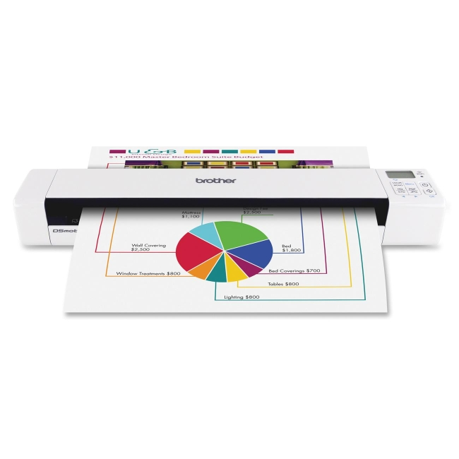 Brother DSmobile 820W Wireless Mobile Color Page Scanner DS-820W