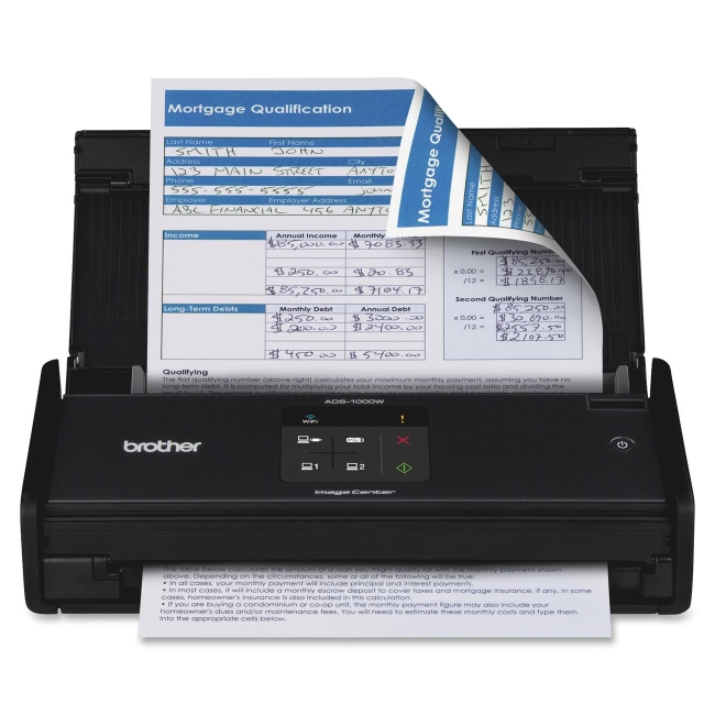 Brother Sheetfed Scanner ADS-1000W
