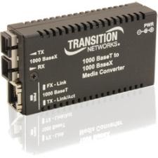 Transition Networks Mini Gigabit Ethernet Media Converter M/GE-T-LX-01-NA M/GE-T-LX-01