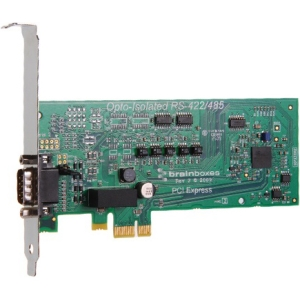 Brainboxes PCIe 1xRS422/485 1MBaud Opto Isolated PX-387
