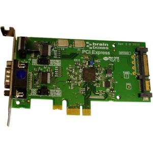 Brainboxes LP PCIe 1xRS232 POS 1A SATA PX-803