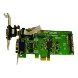 Brainboxes LP PCIe 2xRS232 POS 1A PX-857