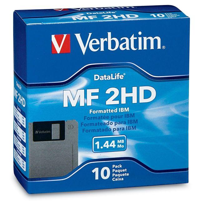 Verbatim DataLife 1.44MB Floppy Disk 87410