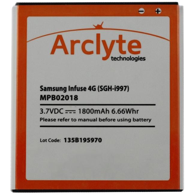 Arclyte Battery for RIM Blackberry MPB02018