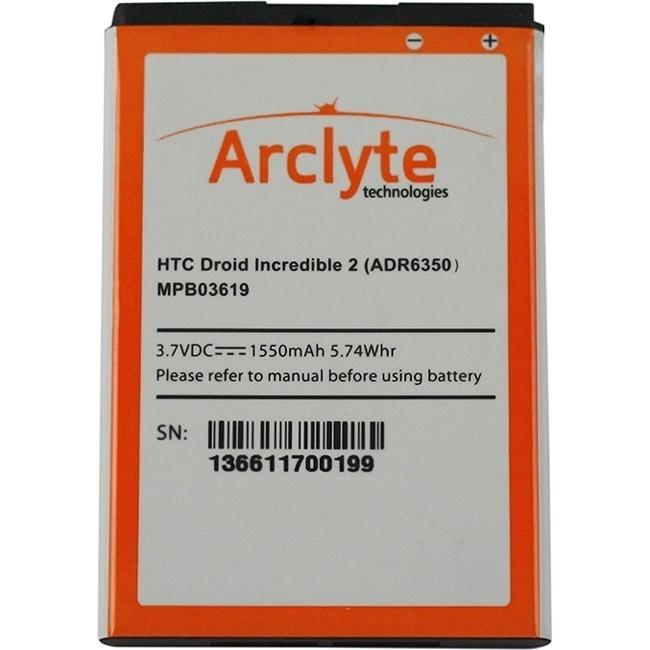 Arclyte Battery for HTC MPB03619