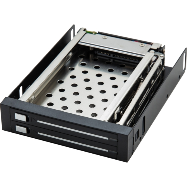"SYBA Multimedia 4"" Moblie Rack for 2 SATA II 2.5"" HDD's SI-MRA25030"