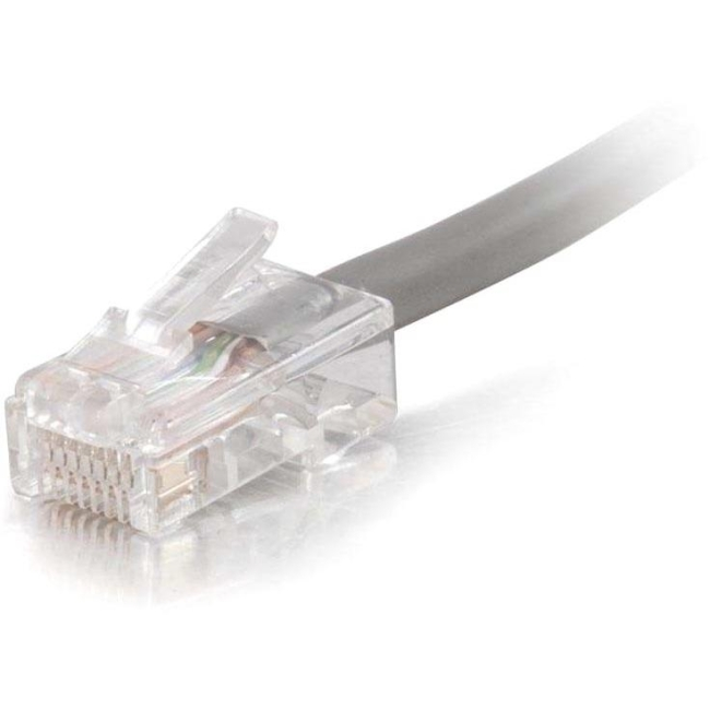 C2G 20 ft Cat5e Non Booted Plenum UTP Unshielded Network Patch Cable - Gray 15232