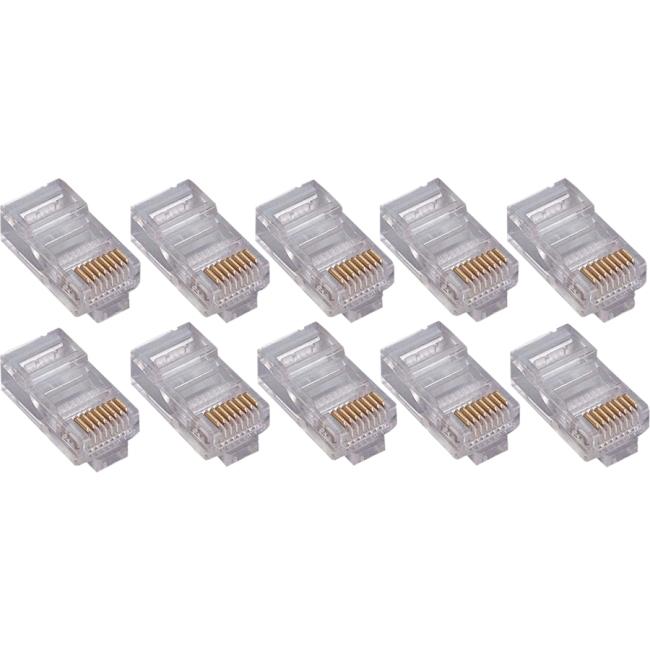 4XEM 100PK Cat6 RJ45 Ethernet Plugs/Connectors 4X100PKC6