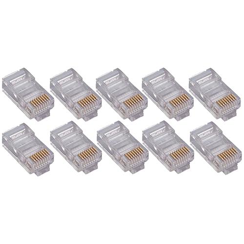 4XEM 50PK Cat5e RJ45 Ethernet Plugs/Connectors 4X50PKC5E