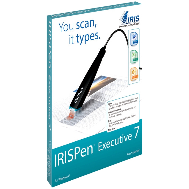 I.R.I.S. IRISPen Pen Scanner 457887 Executive 7
