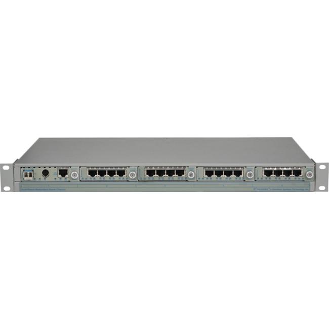 Omnitron Managed T1/E1 Multiplexer 2439-0-23W T1/E1 MUX/M
