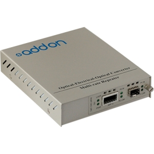 AddOn 10G OEO Converter with SFP+ & XFP slots Standalone Kit ADD-MCC10GXSFP-SK