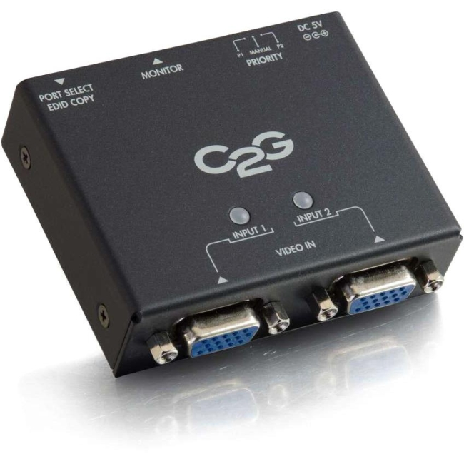 C2G 2-Port VGA Auto Switch 39900