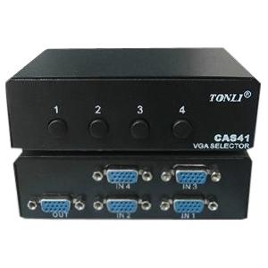 4XEM 4-Port VGA/SVGA Manual Switch 4XVGASL2503