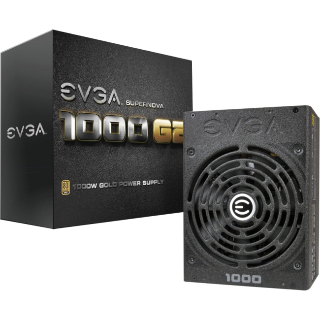 EVGA Supernova 1000W Power Supply 120-G2-1000-XR 1000 G2