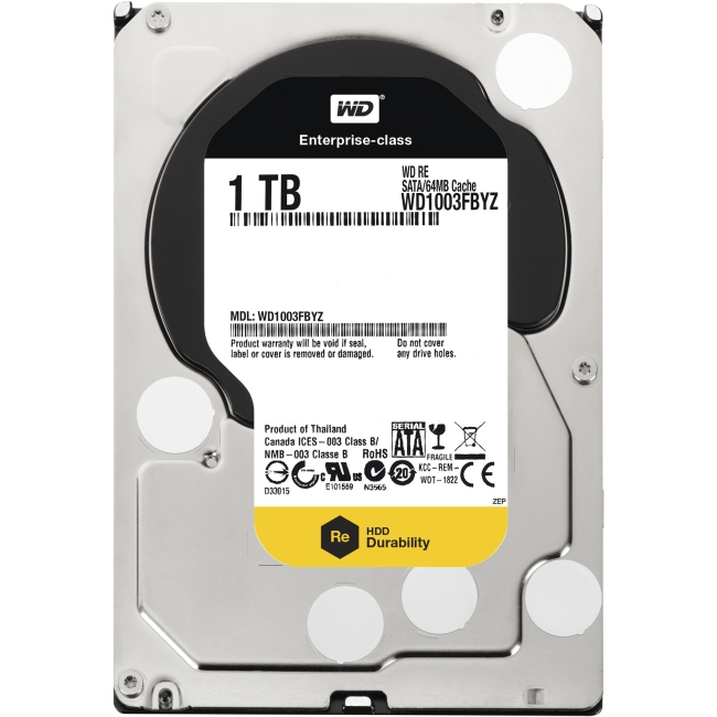 WD Re Datacenter Capacity HDD WD1003FBYZ