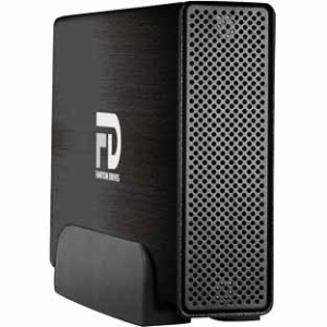 Fantom Drives Professional 1TB 7200rpm USB3.0/eSATA Aluminum External Hard Drive GFP1000EU3